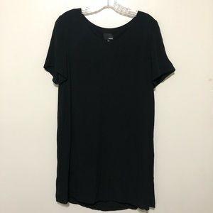 Wilfred Free Teigen Shift Dress Small Black